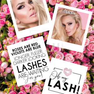 OH MY LASH! POSTER ROSES ARE RED