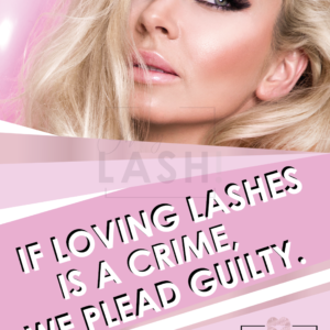 OH MY LASH! POSTER LOVING LASHES