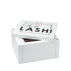 Mini Lashbox incl. 5 Glasplaten in doosje