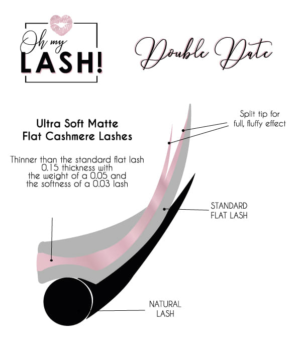 Ultra Soft Matte Flat Cashmere Lashes